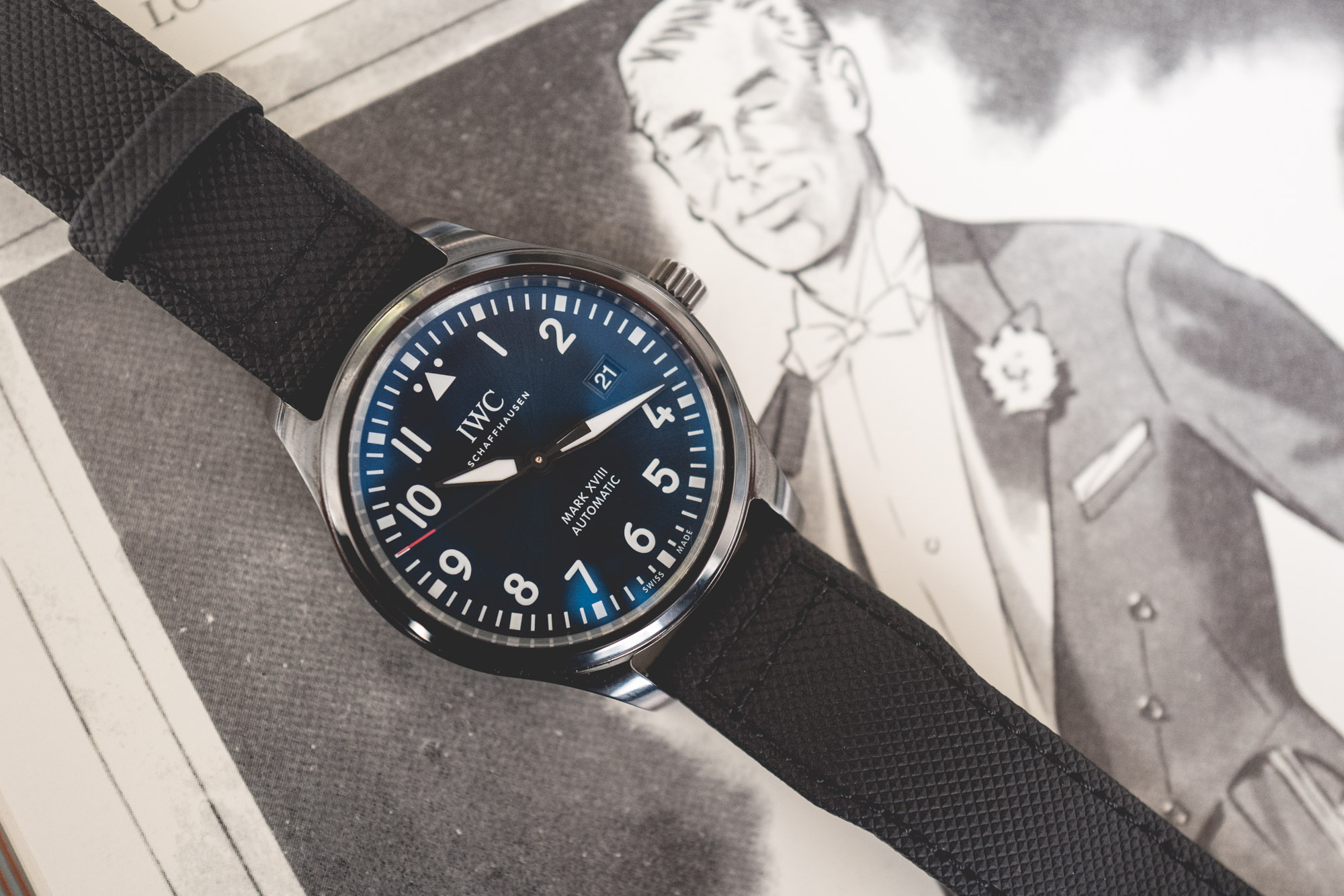 IWC Mark XVIII Edition Laureus Sport for Good - Cadran