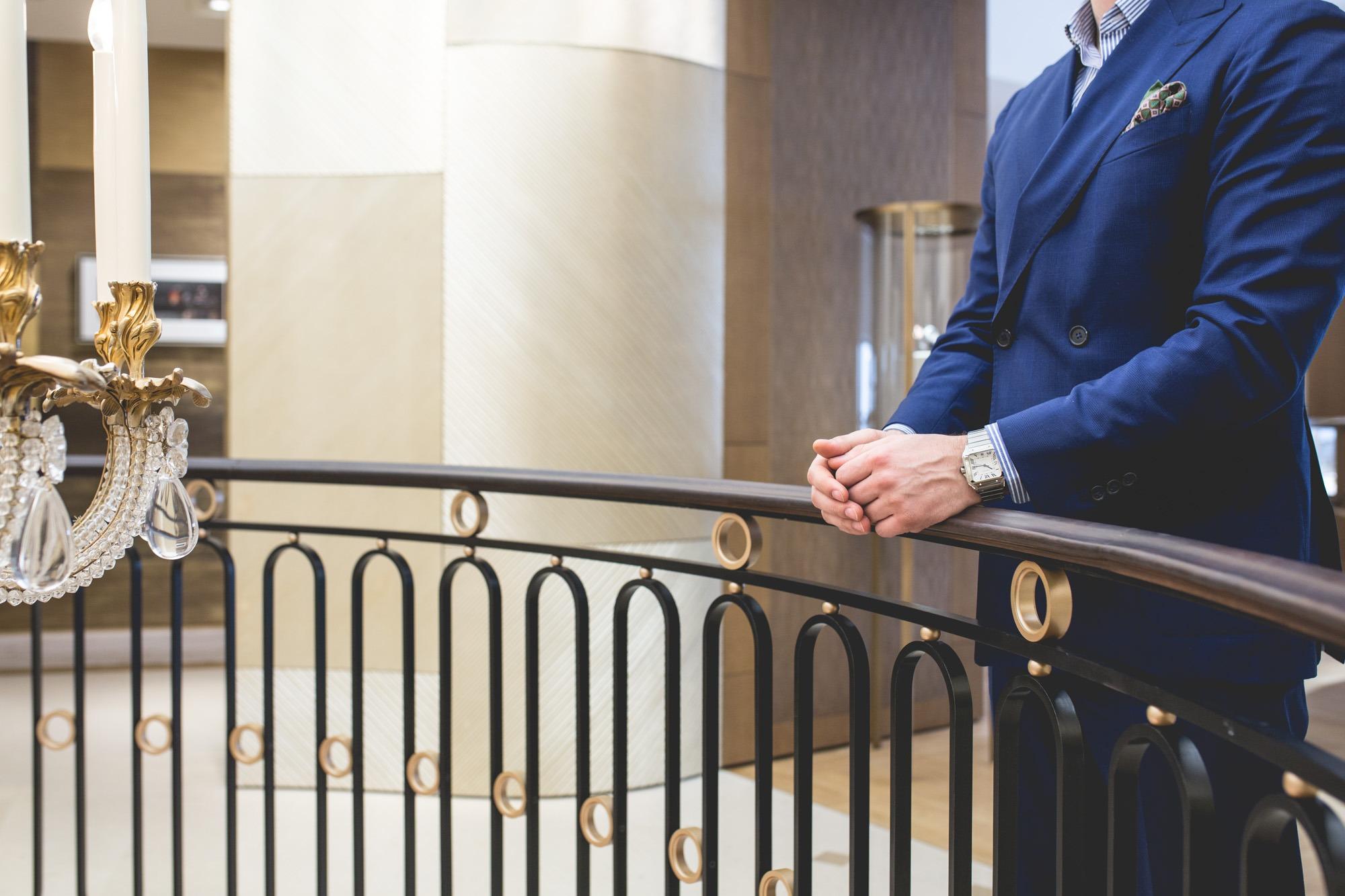 Montre Cartier Santos Style
