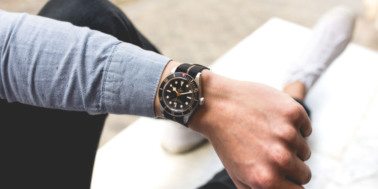 TUDOR Black Bay Fifty Eight - Wristshot