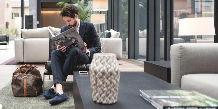 Hilton Como - Jaguar book