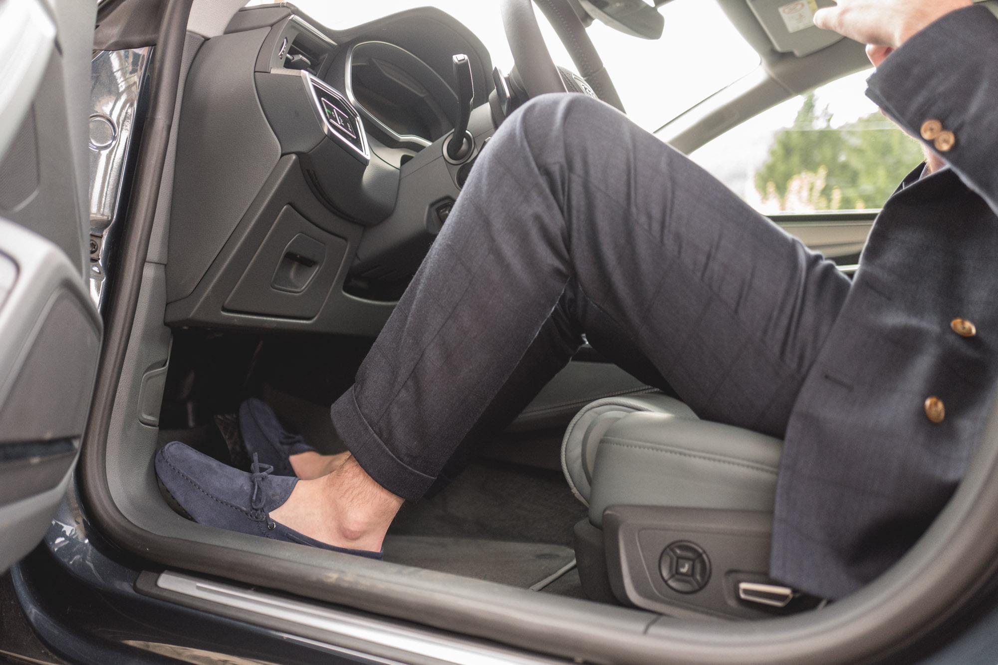 Audi A7 Sportback - Mocassins de conduite Tod's Gommino