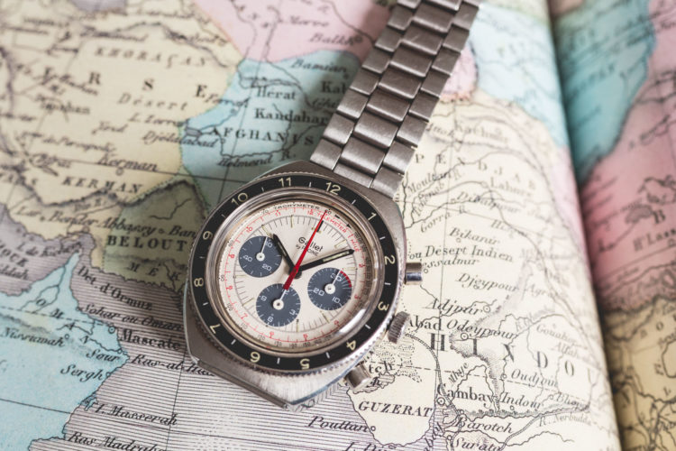 Montre Chronographe Gallet by Racine