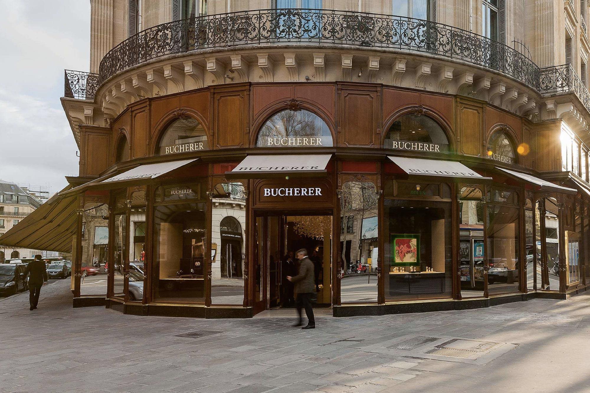 Boutique Bucherer Boulevard des Capucines à Paris