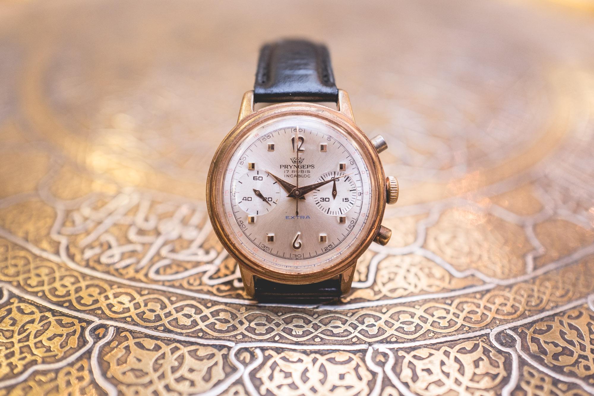 Vente Tajan Georg Fischer Pryngeps chronograph
