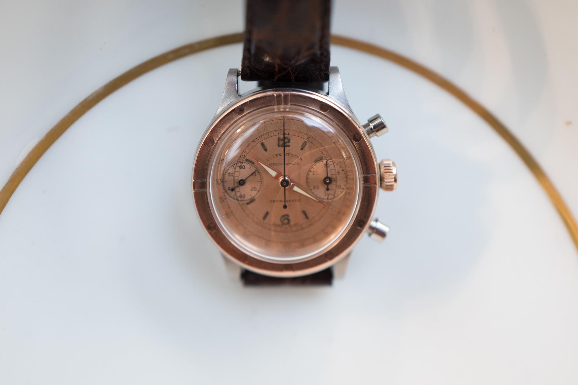 Vente Tajan Georg Fischer Rolex Oyster Chronograph