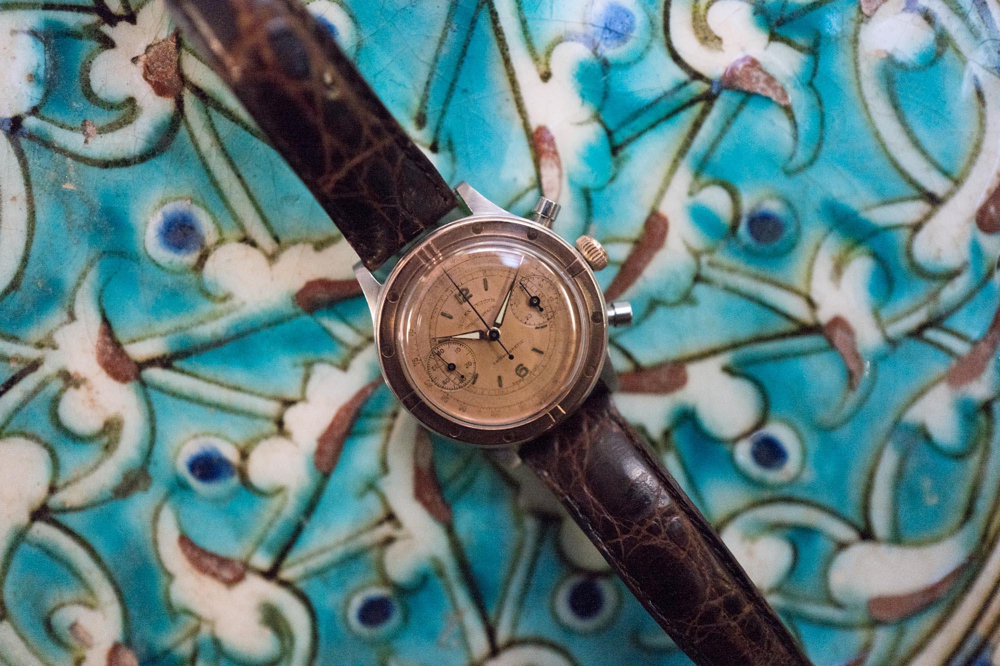 Vente Tajan Georg Fischer Rolex Oyster Chronograph - Focus