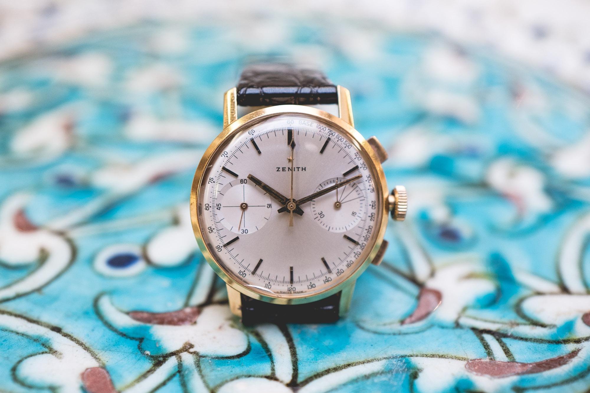 Vente Tajan Georg Fischer Zenith Chronograph