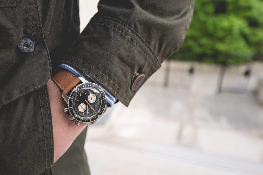 Chronographe Bucherer Yachtingraph - Look