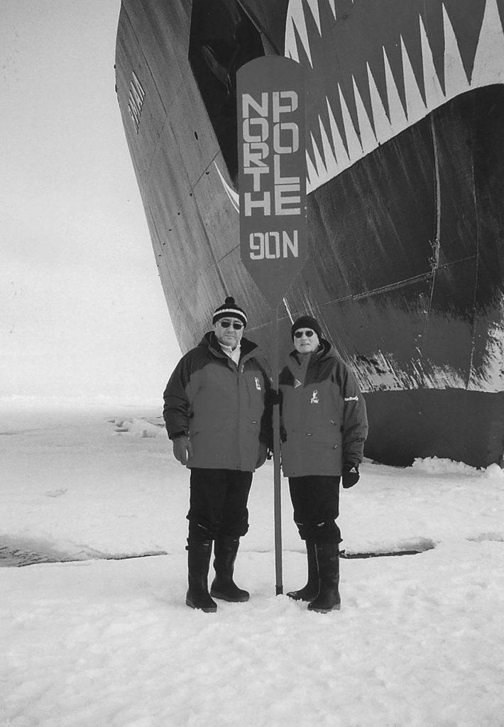 Le Dr Georg Fischer - Pôle Nord
