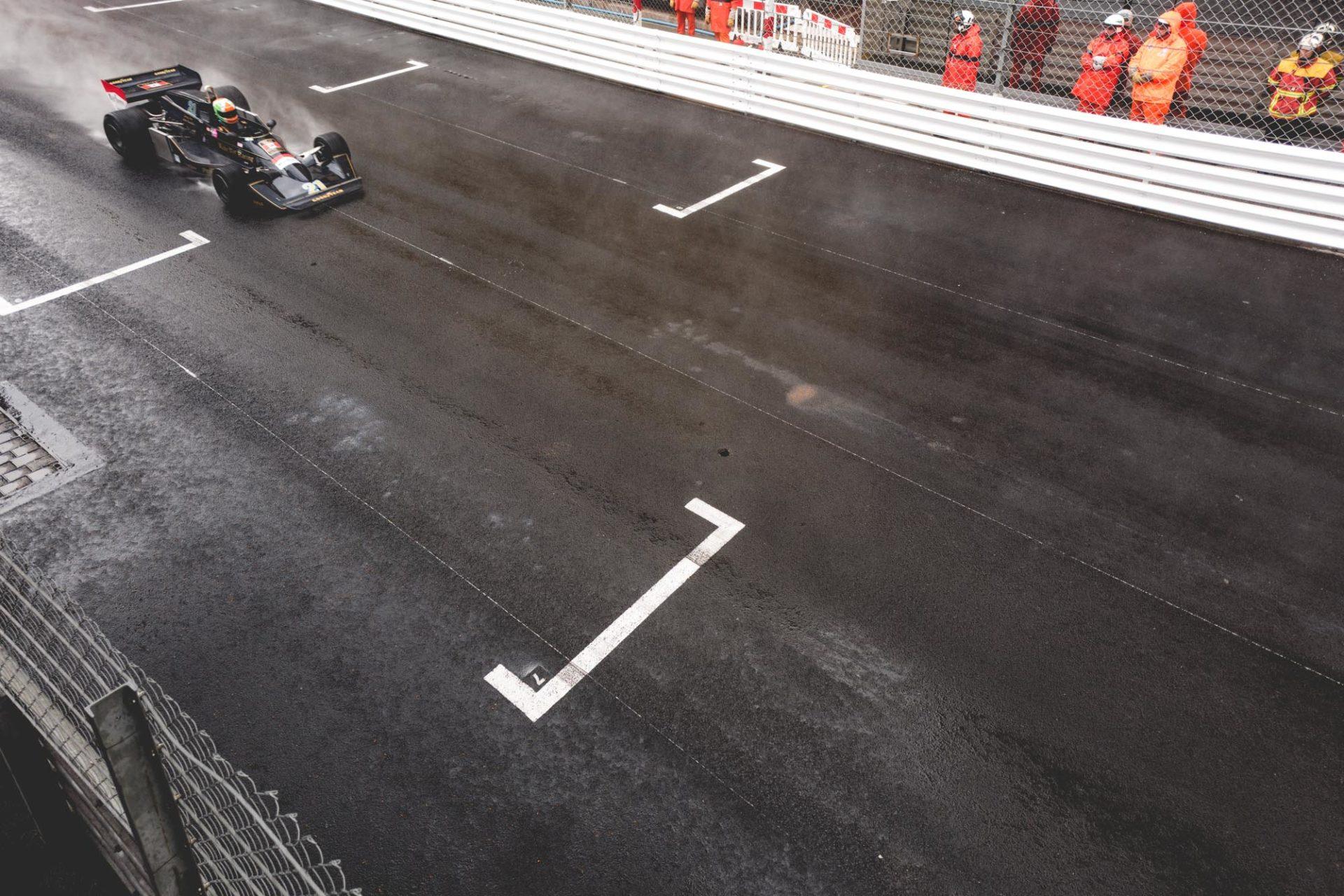 Grand Prix de Monaco Historique - Pluie sur la course