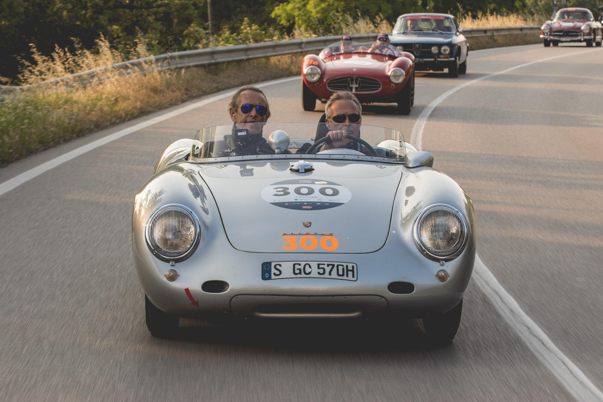 Mille Miglia - Karl-Friedrich Scheufele et Jacky Ickx