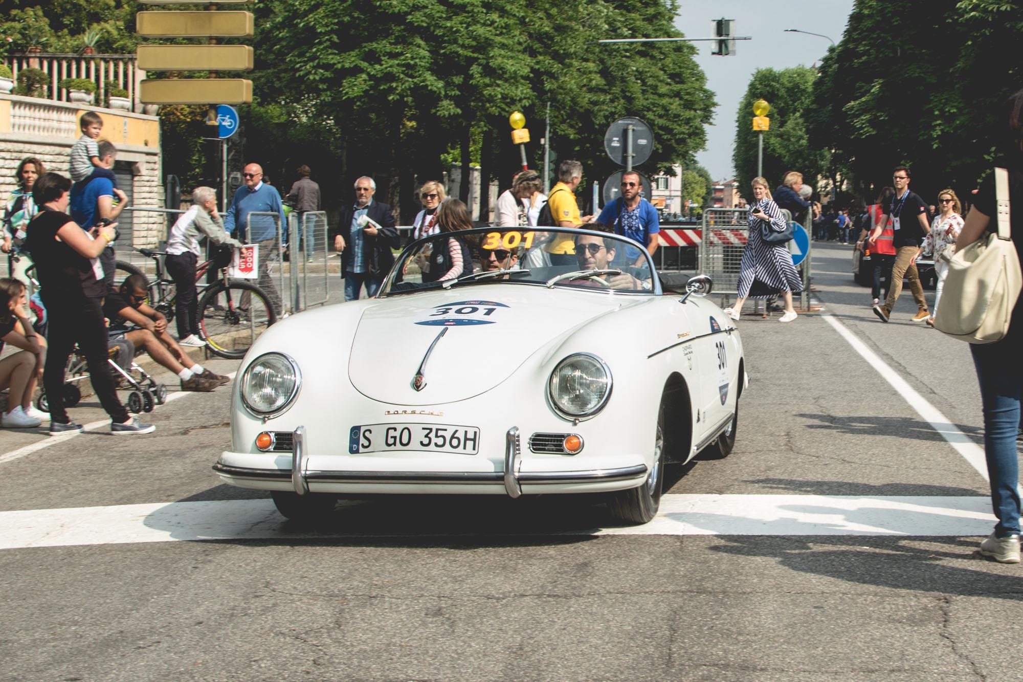 Mille Miglia - Chopard Team et Adrien Brody