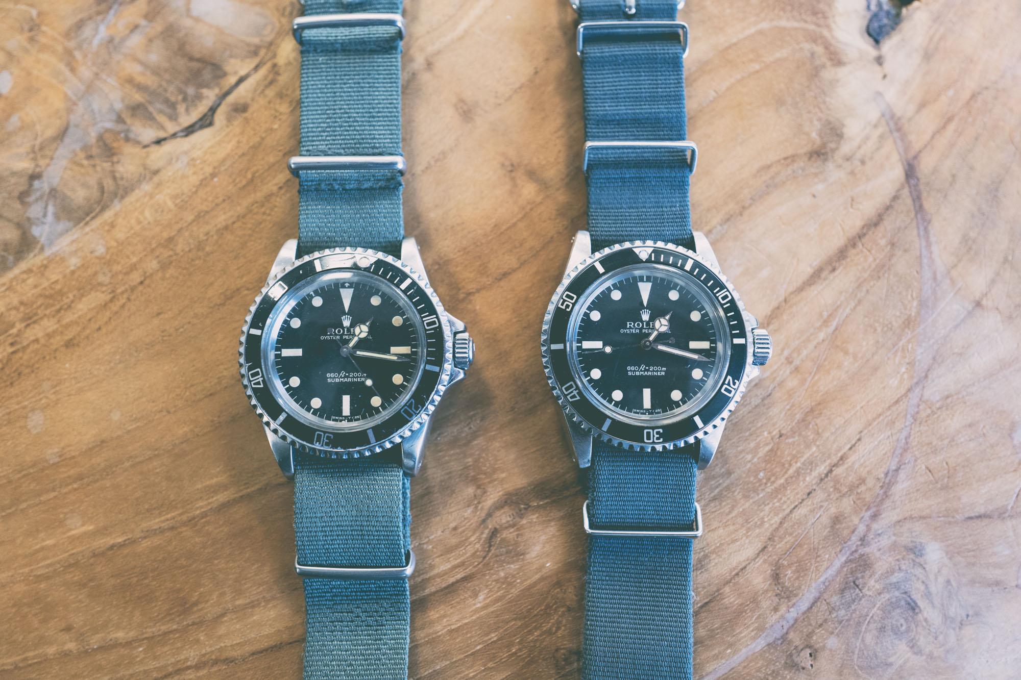 Rolex Submariner 5513 - Bracelets Nato