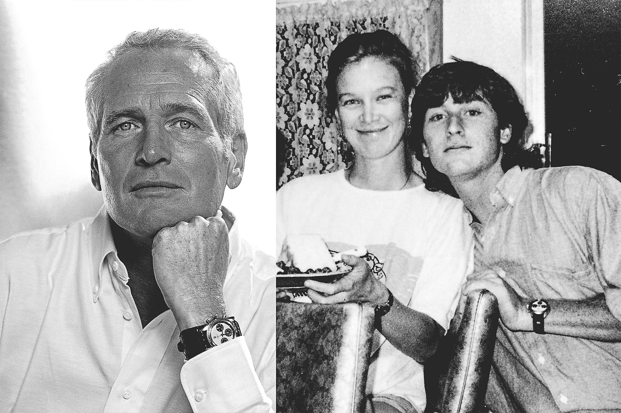 Paul Newman, Nell and James Cox