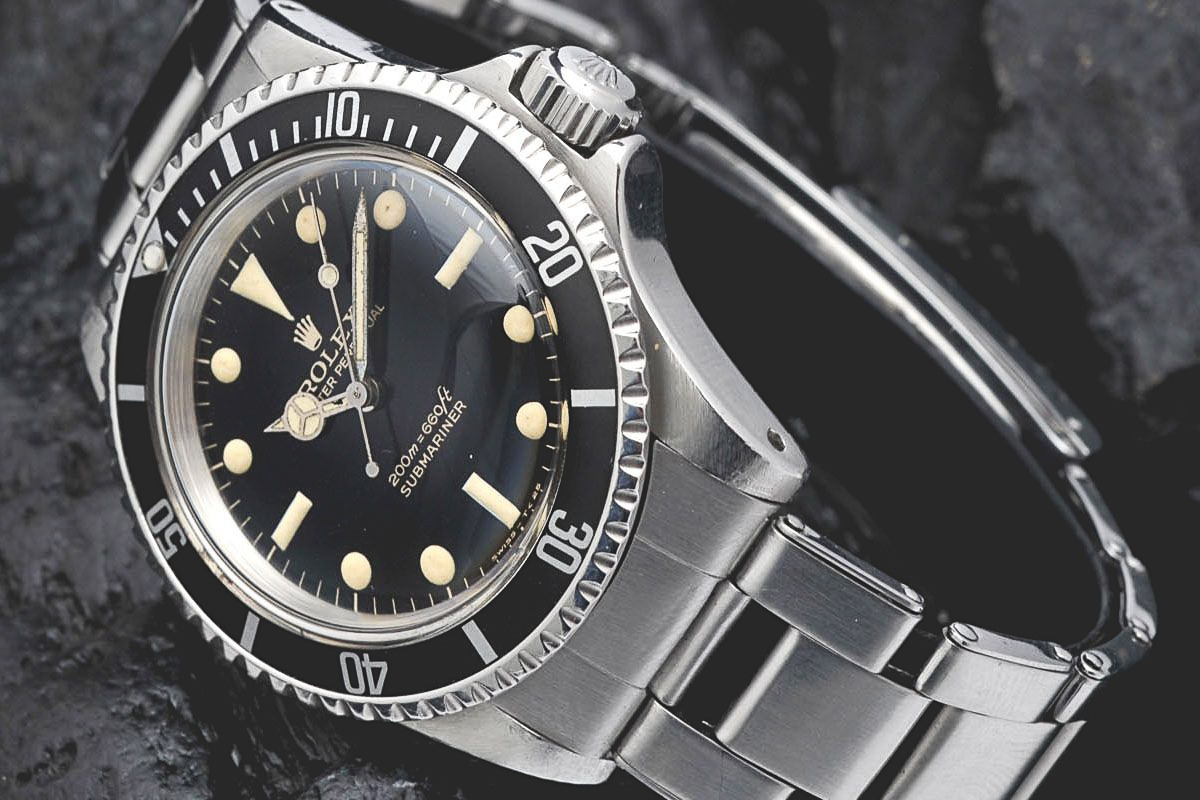 Rolex Submariner 5513 Gilt Dial Bart Simpson