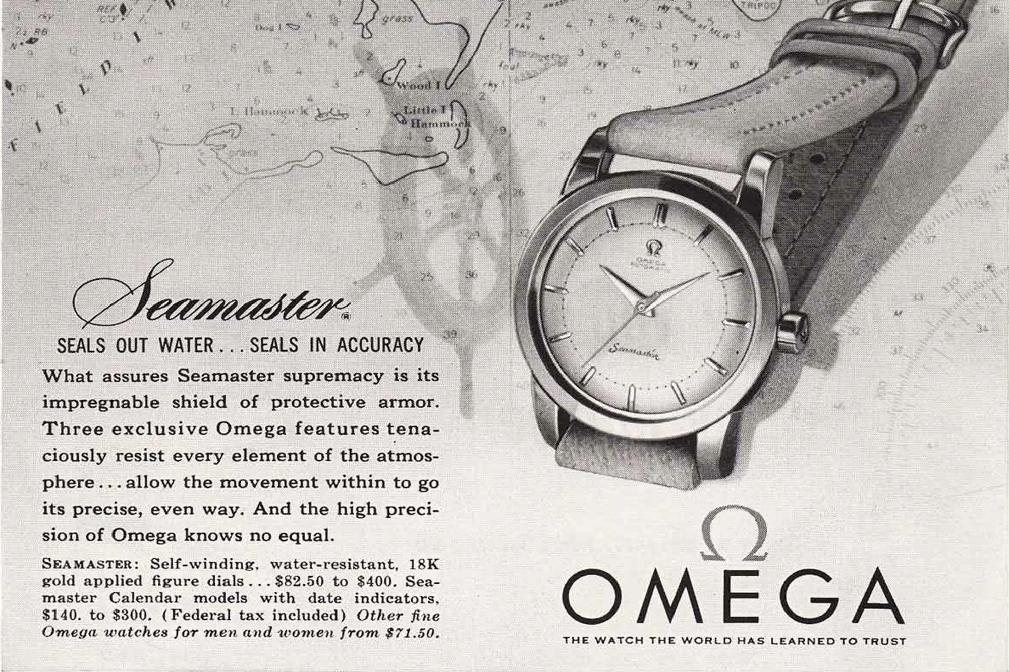 Omega Seamaster Ad