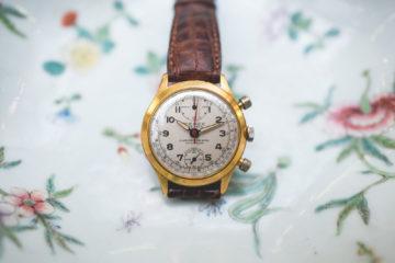 """Vente aux enchères """"montres"""" Tajan - Chronographe Pierce"""