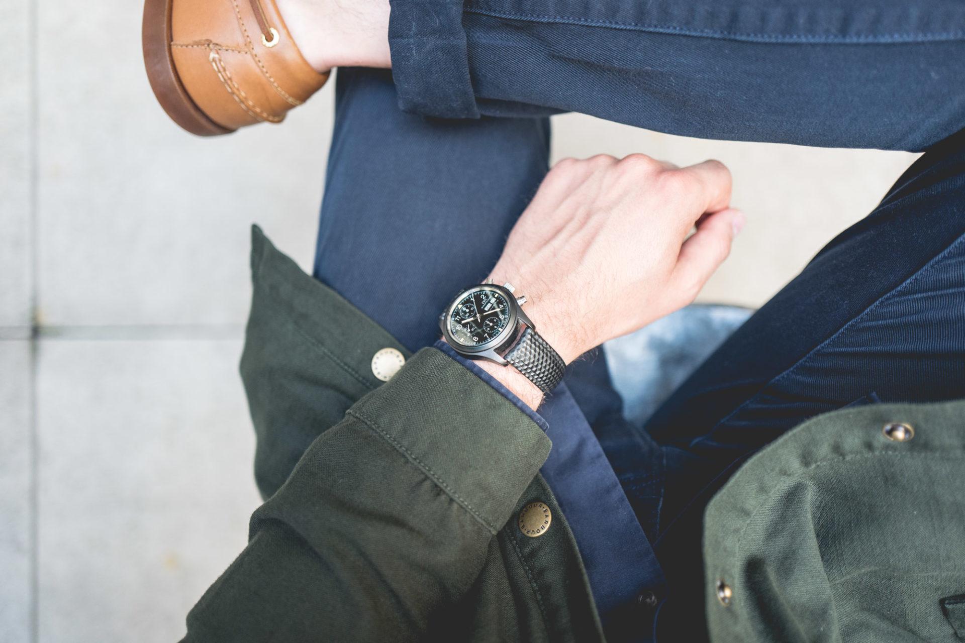 """Vente aux enchères """"montres"""" Tajan - IWC Fliegerchronograph"""