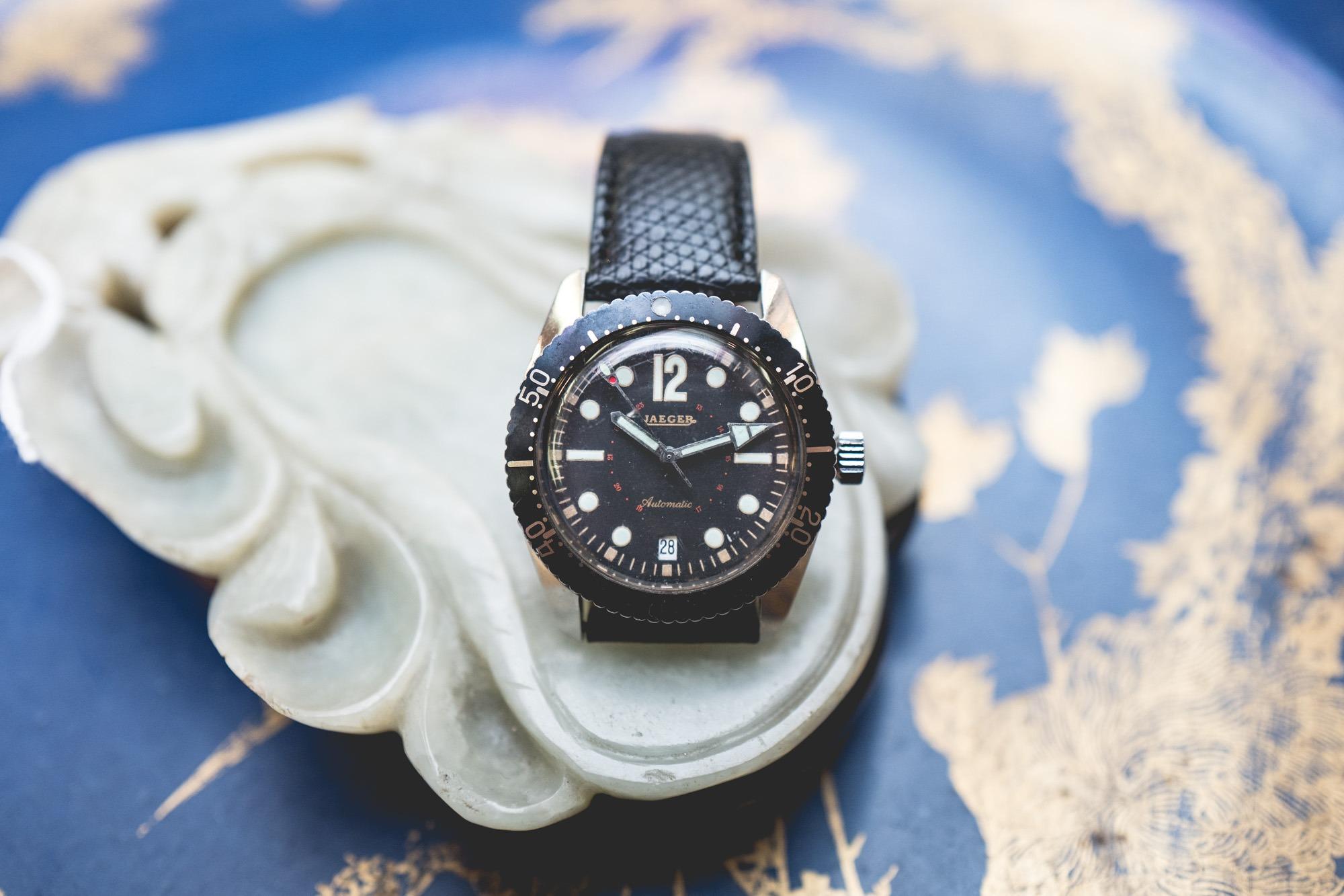 """Vente aux enchères """"montres"""" Tajan - Montre de plongée Jaeger"""