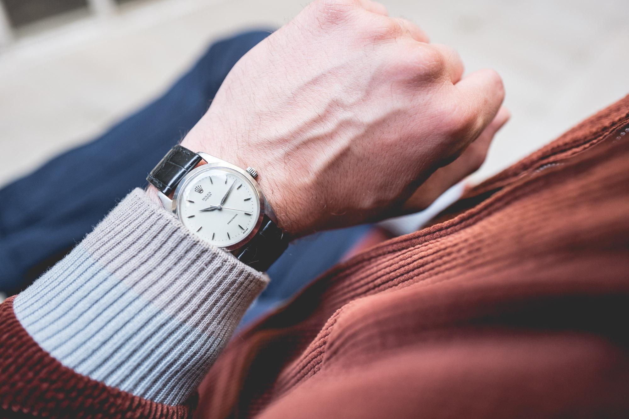 """Vente aux enchères """"montres"""" Tajan - Rolex Oyster 6424"""