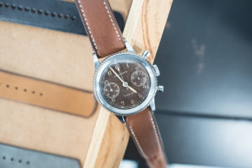Auricoste Type 20 - Montre ancienne en acier - Chronographe retour en vol