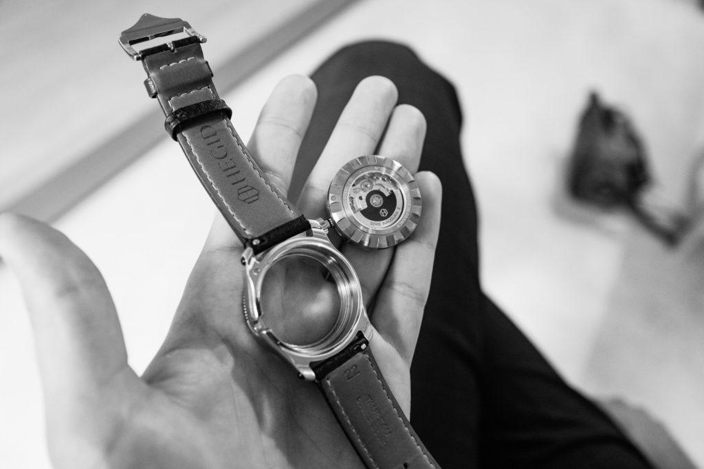 Hegid Watches - Capsule, Carrure et bracelet