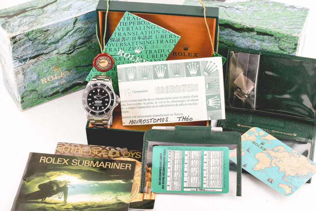 Rolex Sea-Dweller COMEX - Full Set