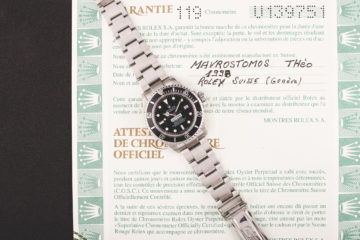 Rolex Sea-Dweller COMEX - Papiers Rolex