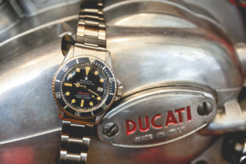 Vente Antiquorum Rare Watches - Rolex Red Submariner 1680