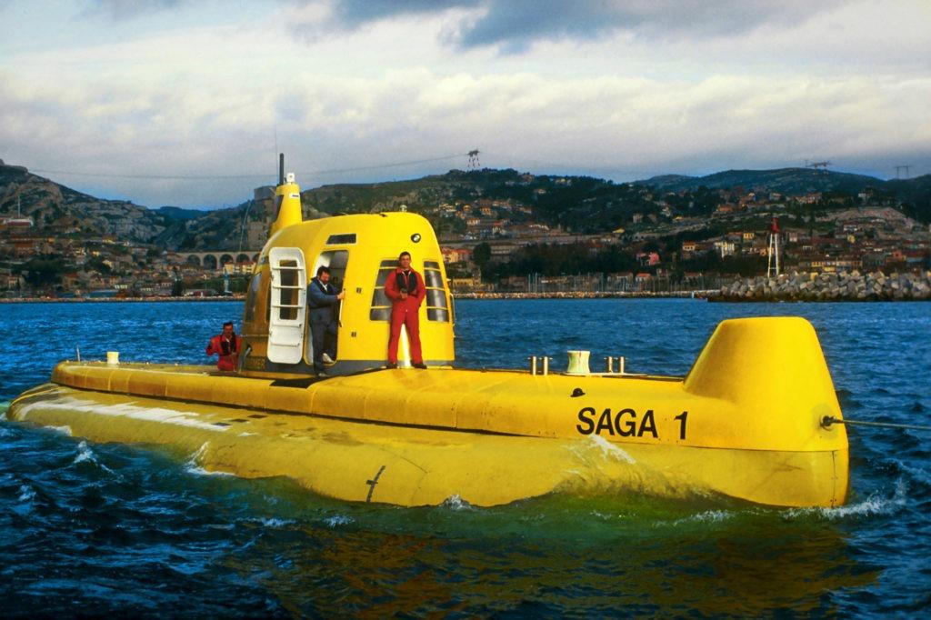 Comex - Sous-marin saga (1987) (source : Comex)