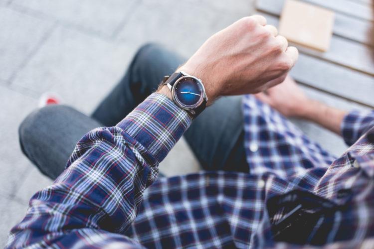 Awake Watches - cadran bleu