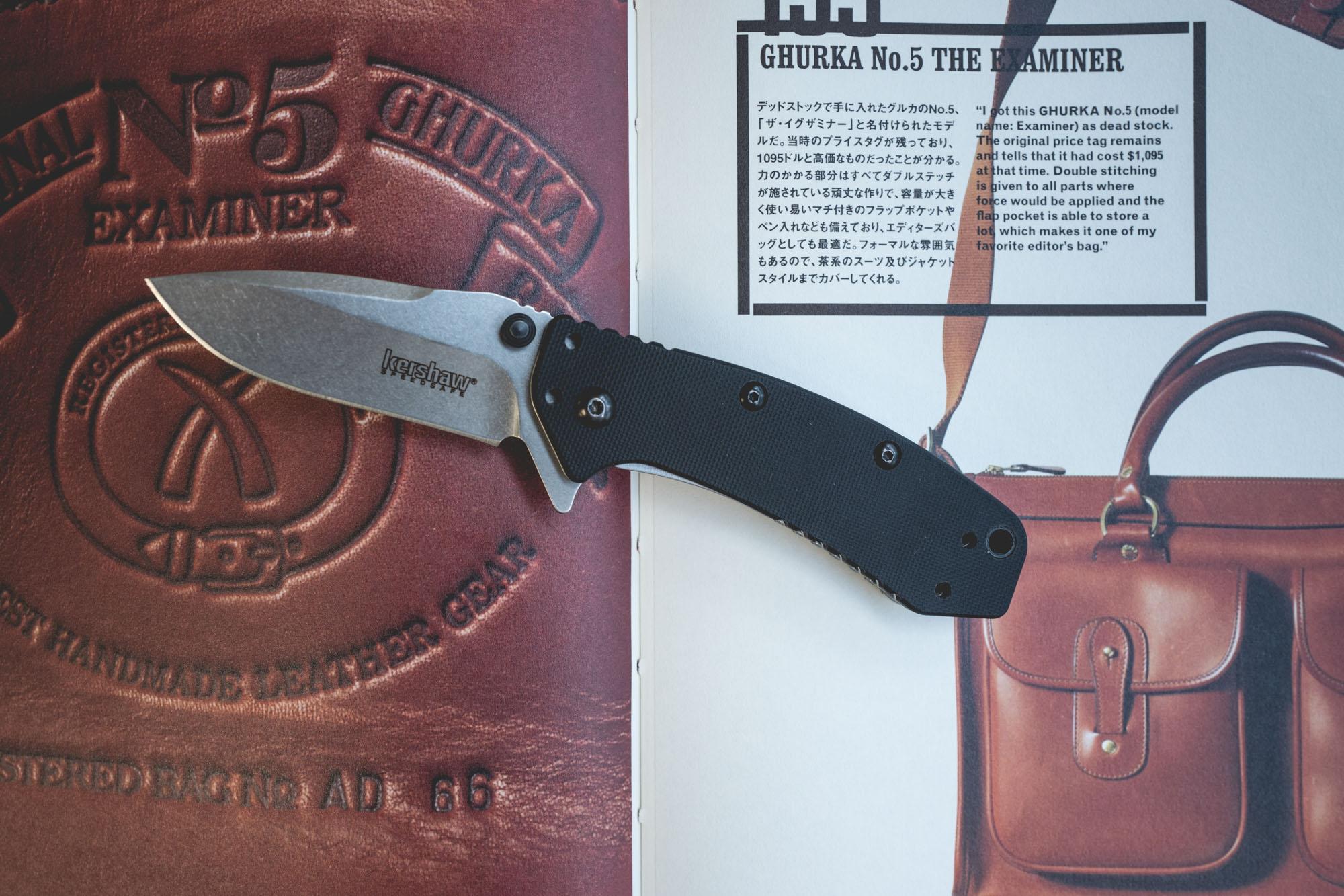 Couteau pliant Kershaw Cryo G10