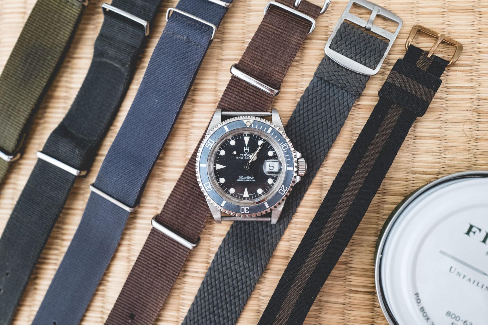 Tudor 79090 - Bracelets tissus cirés
