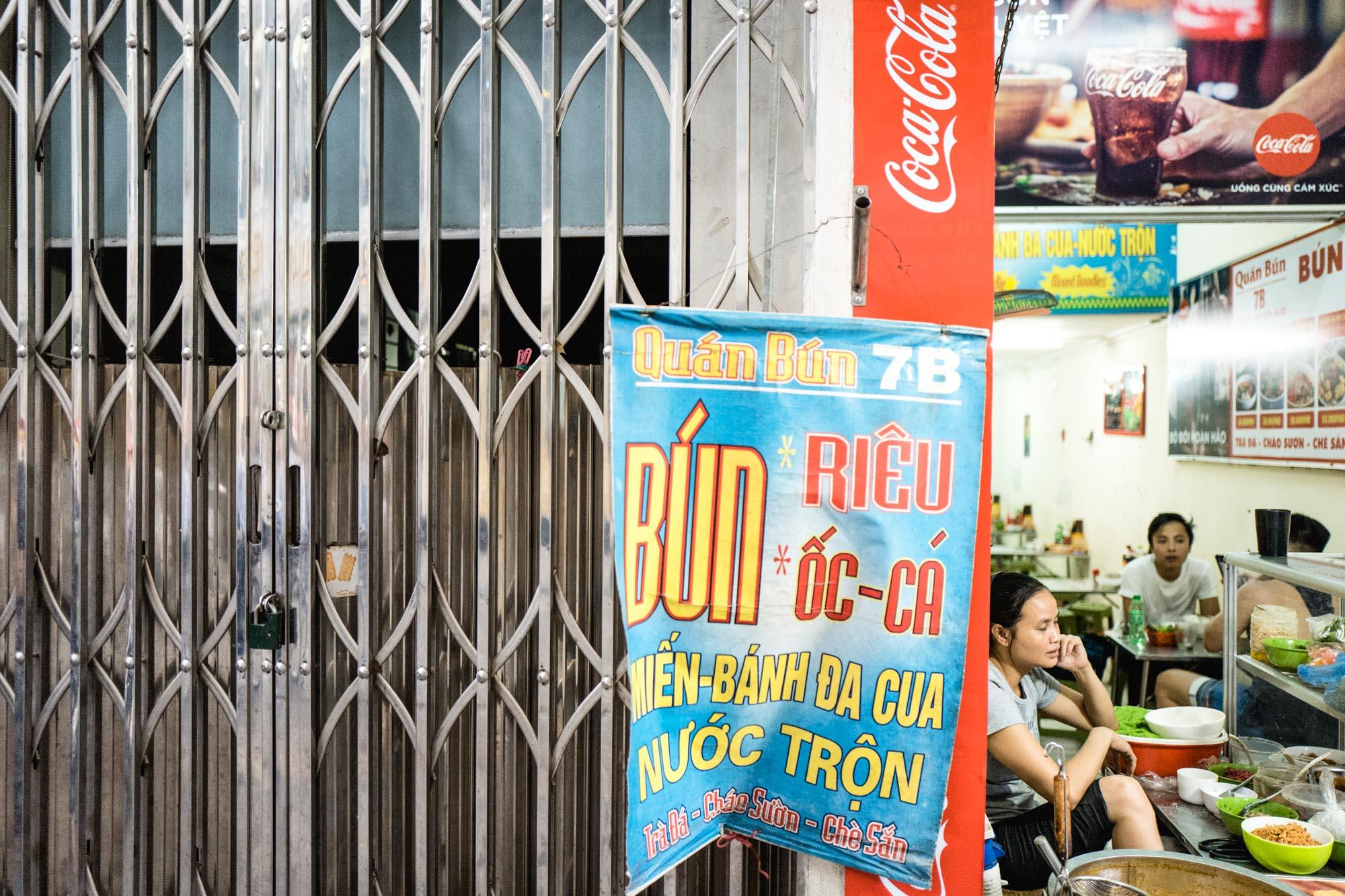 Hanoi, Vietnam - Streetfood
