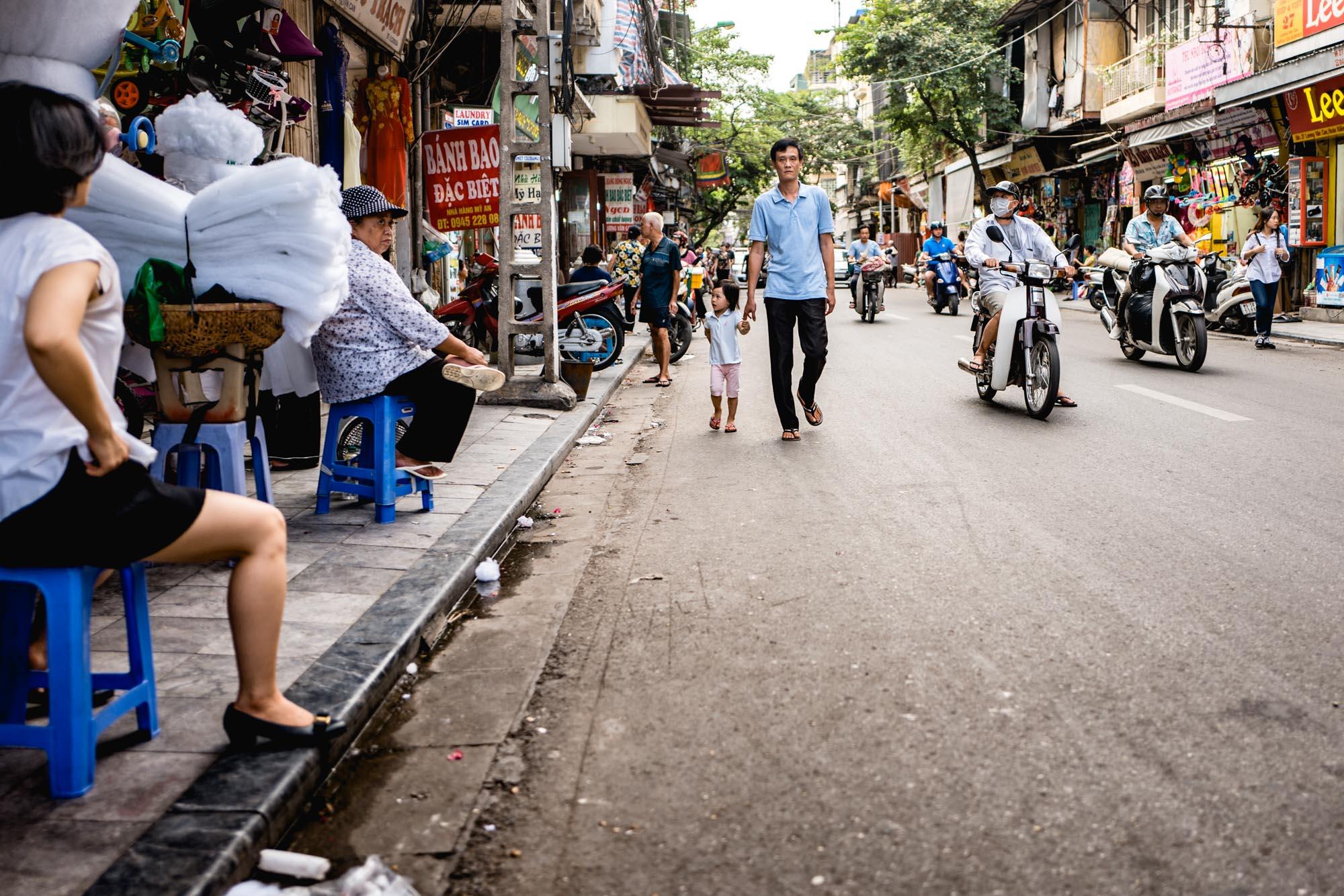 Hanoi, Vietnam - Famille