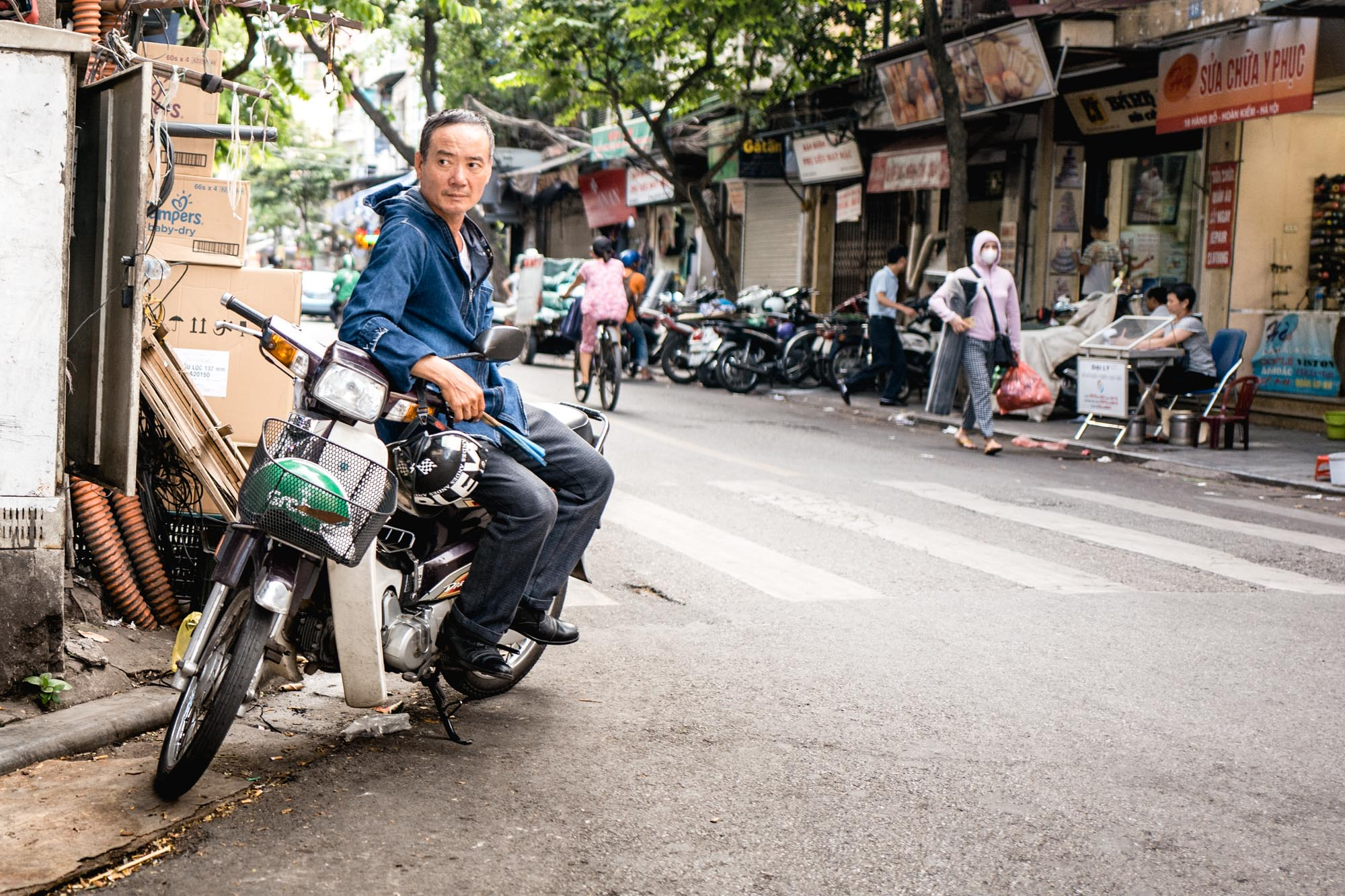 Hanoi, Vietnam - Rue
