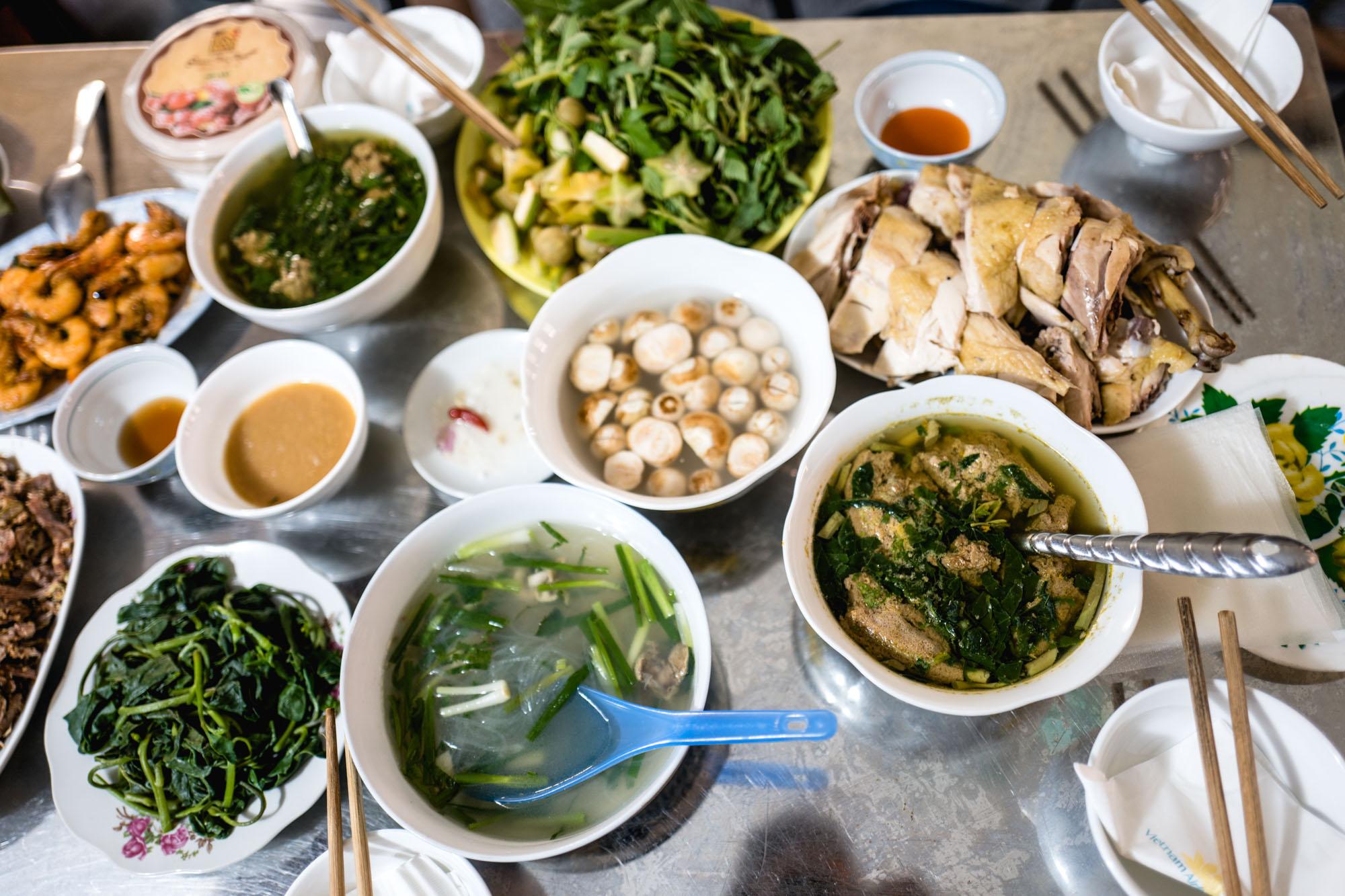 Hanoi, Vietnam - Repas