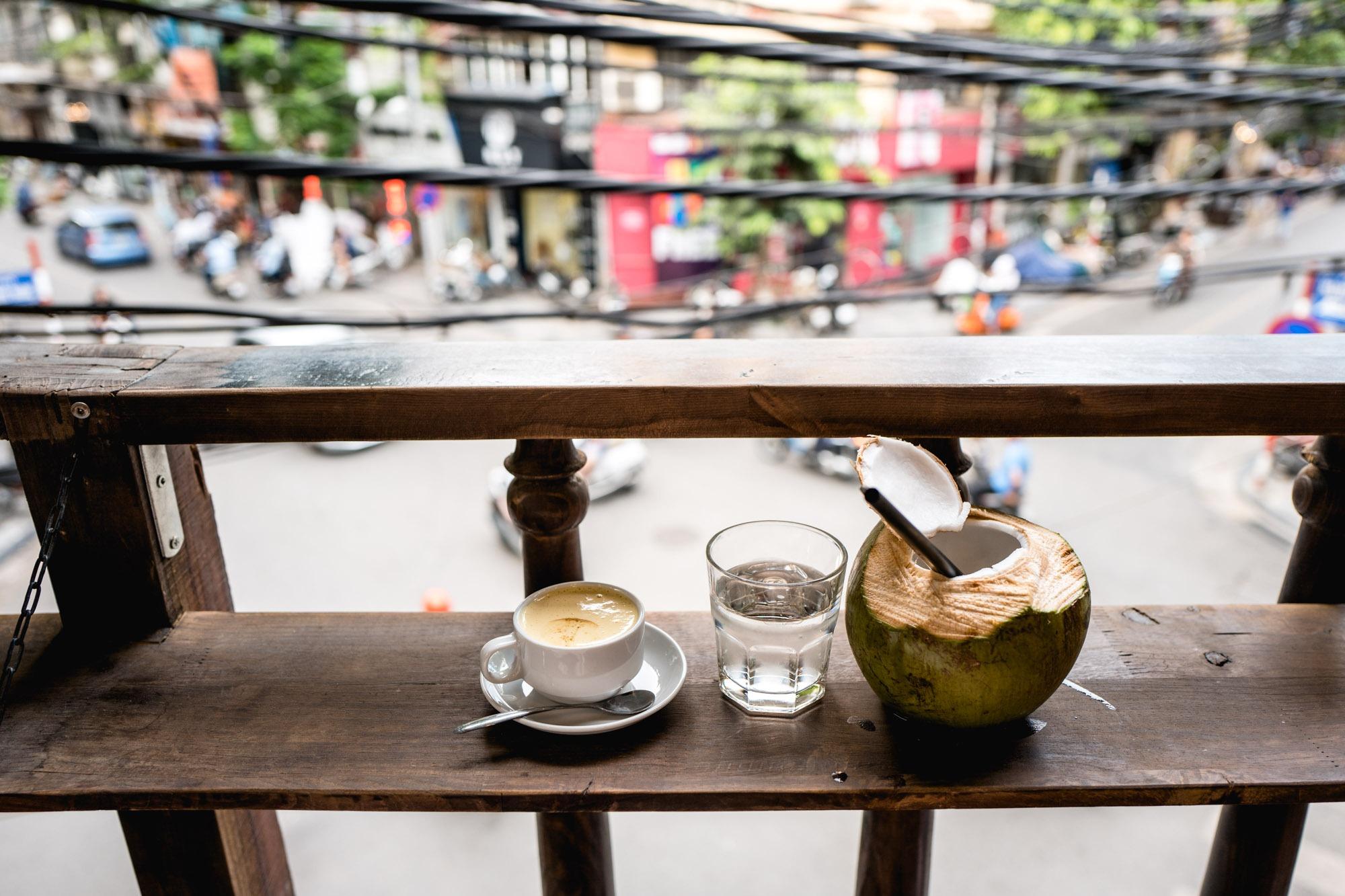 Hanoi, Vietnam - Café aux oeuf