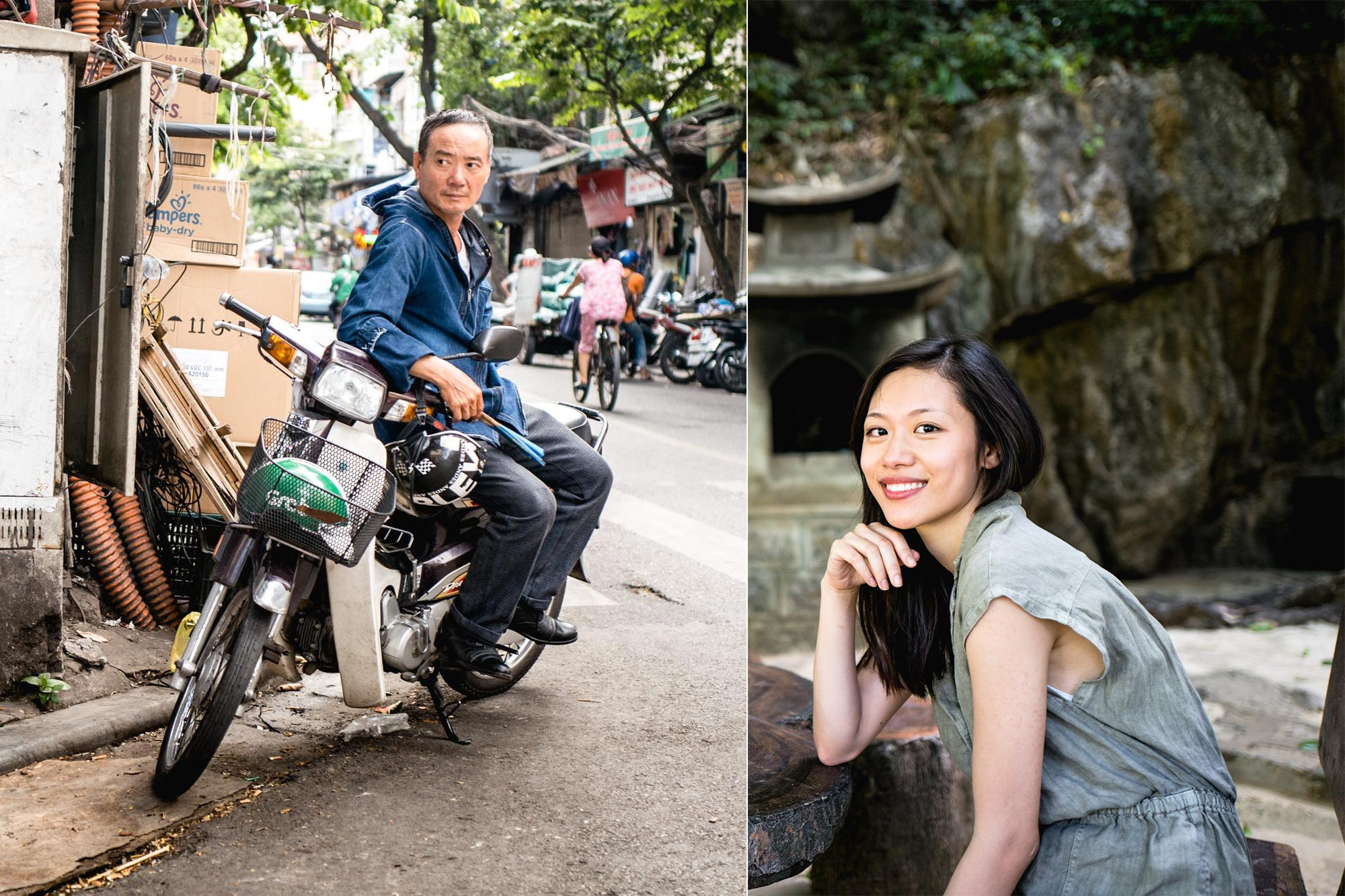Hanoi, Vietnam - Sourire