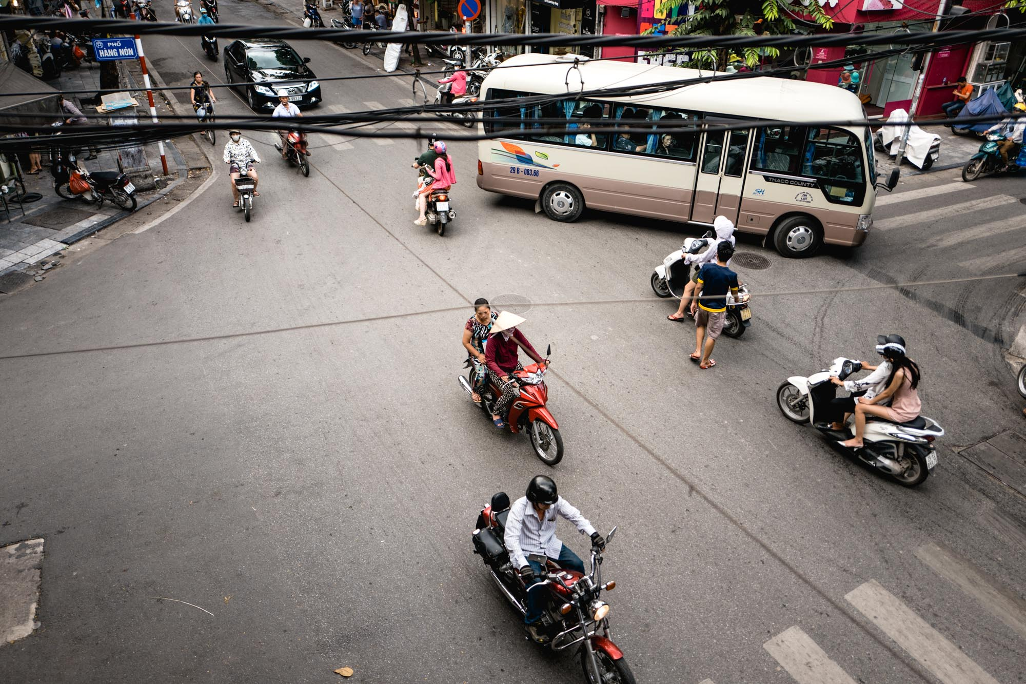 Hanoi, Vietnam - Circulation
