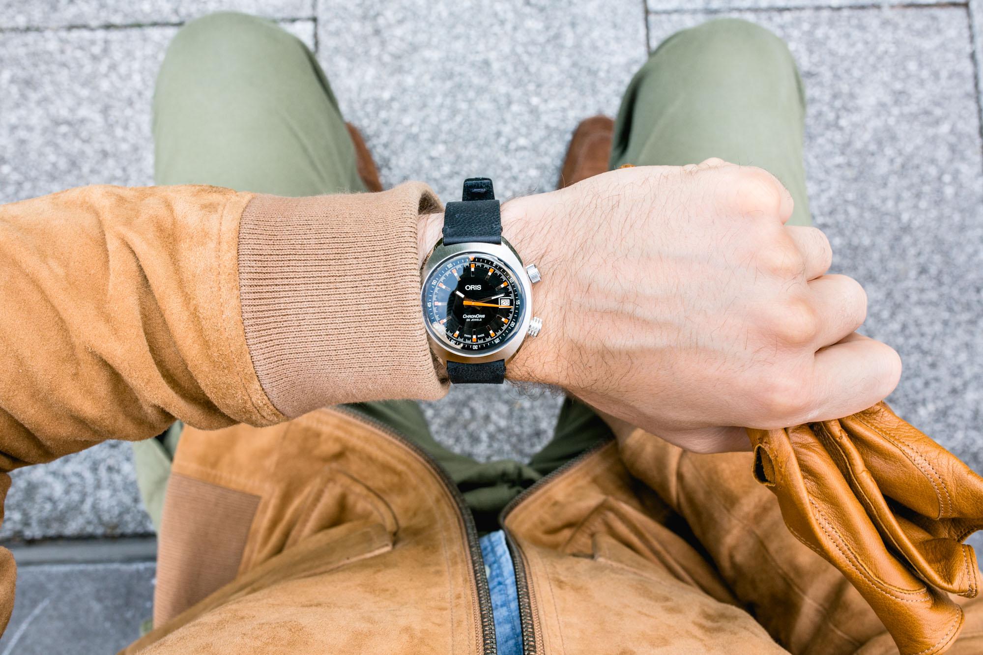 Oris Chronoris Date - Wrist