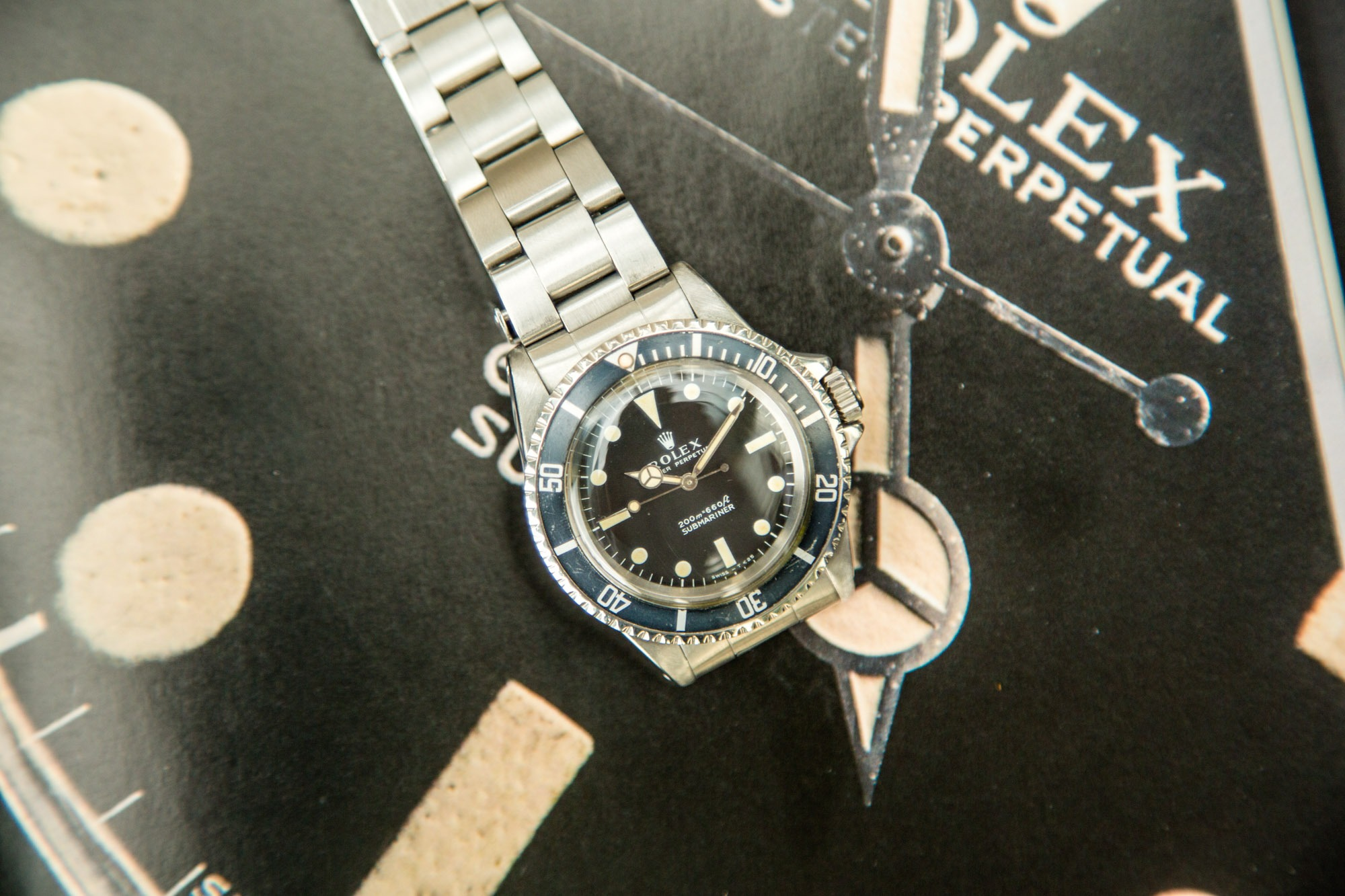 Vestiaire Collective - Montres Anciennes - Rolex 5513 Submariner