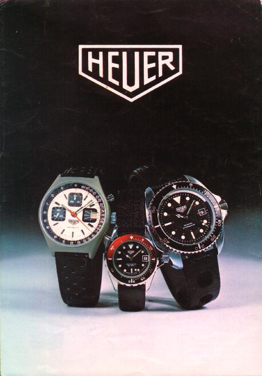 Catalogue Heuer de 1979