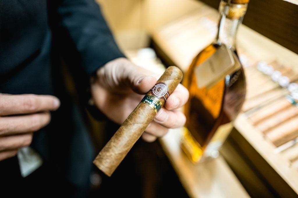 Accords cigares/spiritueux - Cigare Montecristo Open