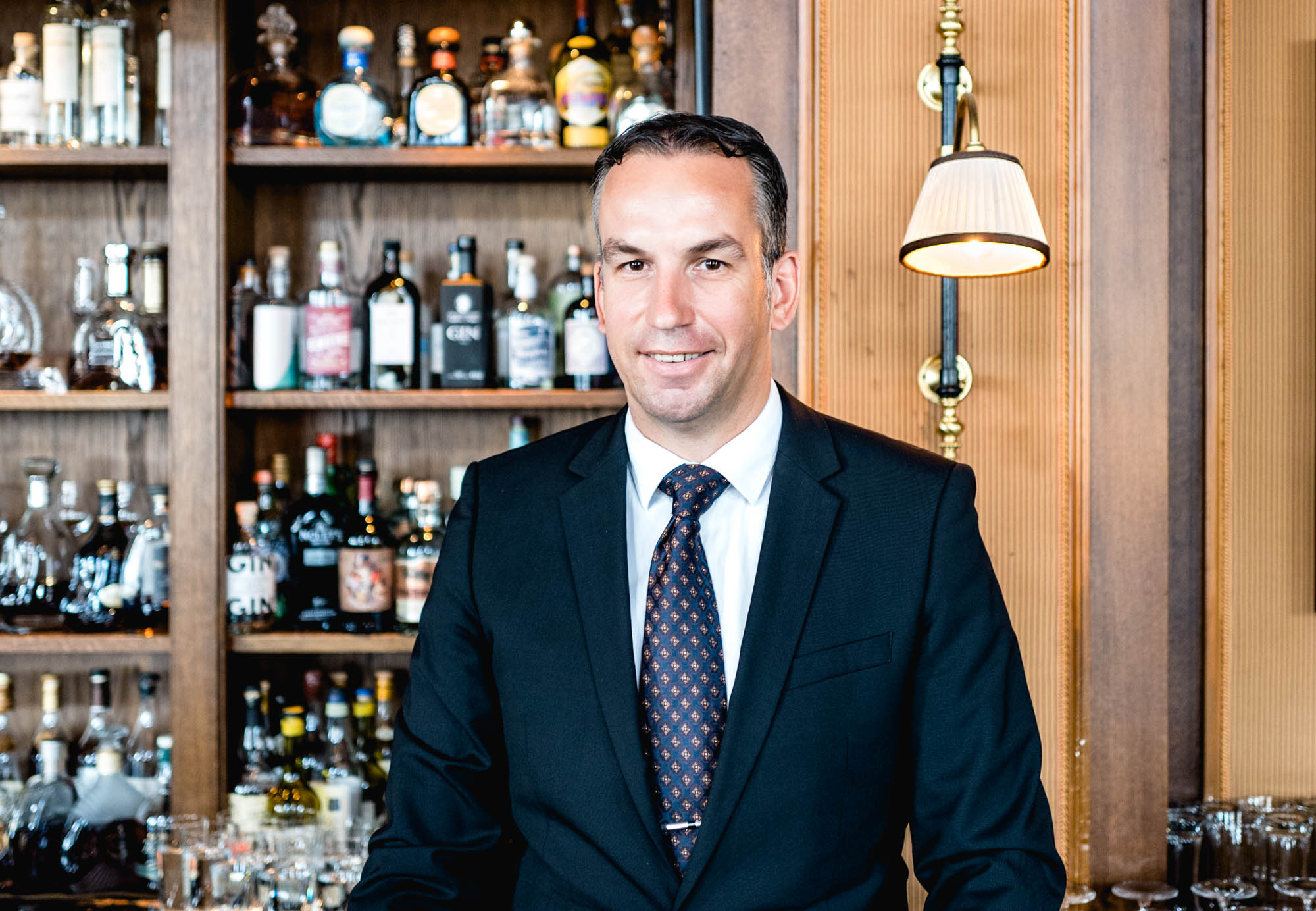 Thomas Huhn - Bar Manager du Grand Hotel des Trois Rois