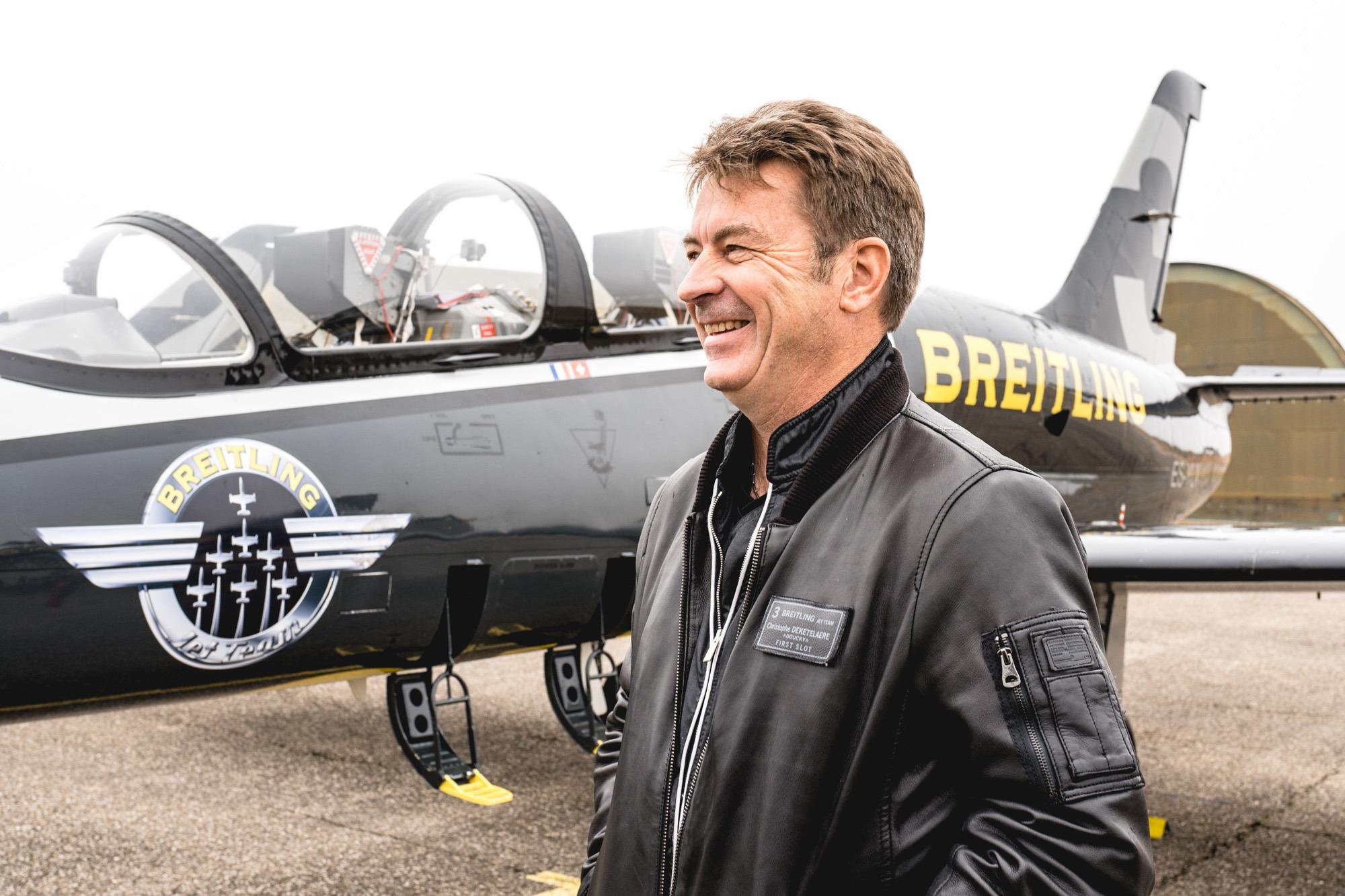 Breitling Jet Team - Christophe Deketelaere
