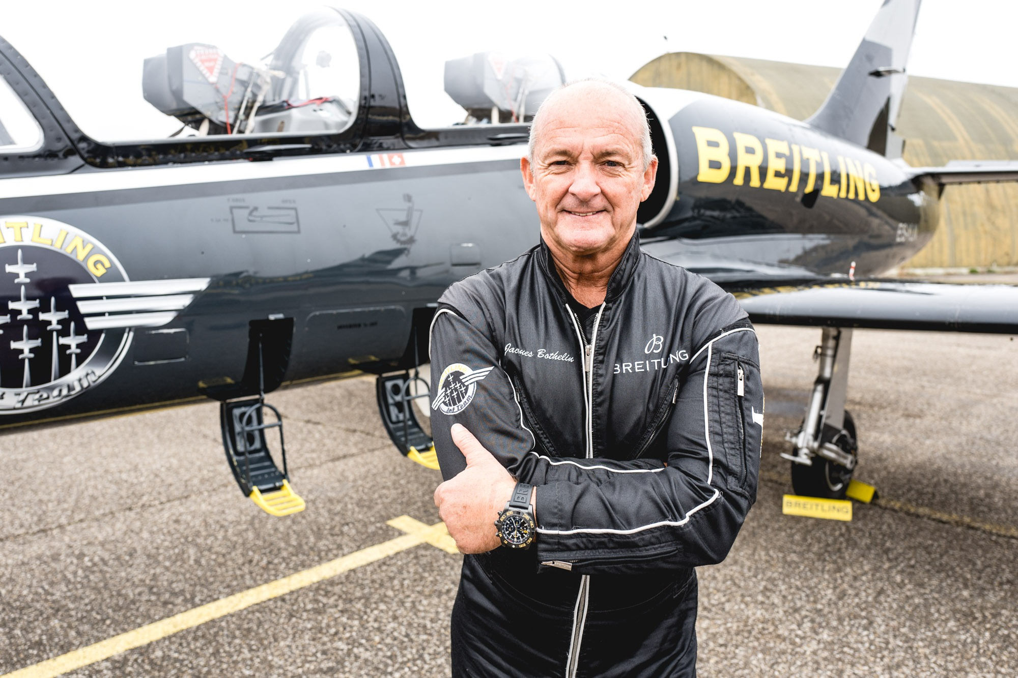 Breitling Jet Team - Jacques Bothelin