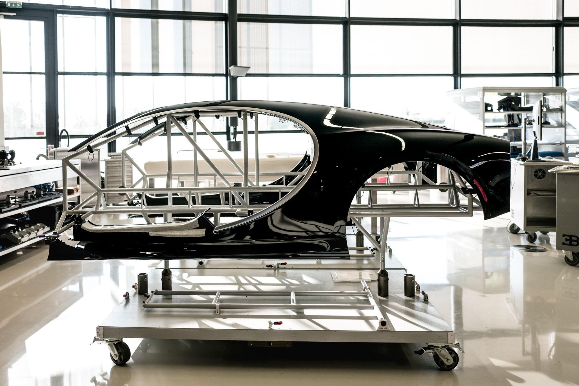 Ateliers Bugatti à Molsheim - Carrosserie