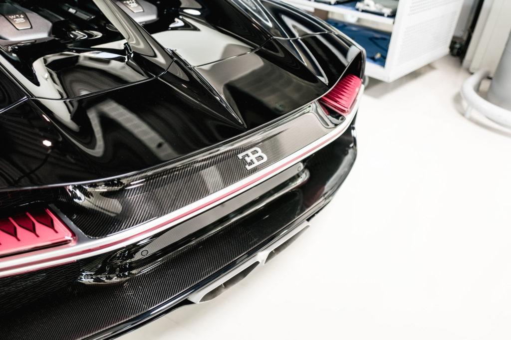Ateliers Bugatti à Molsheim - Arrière