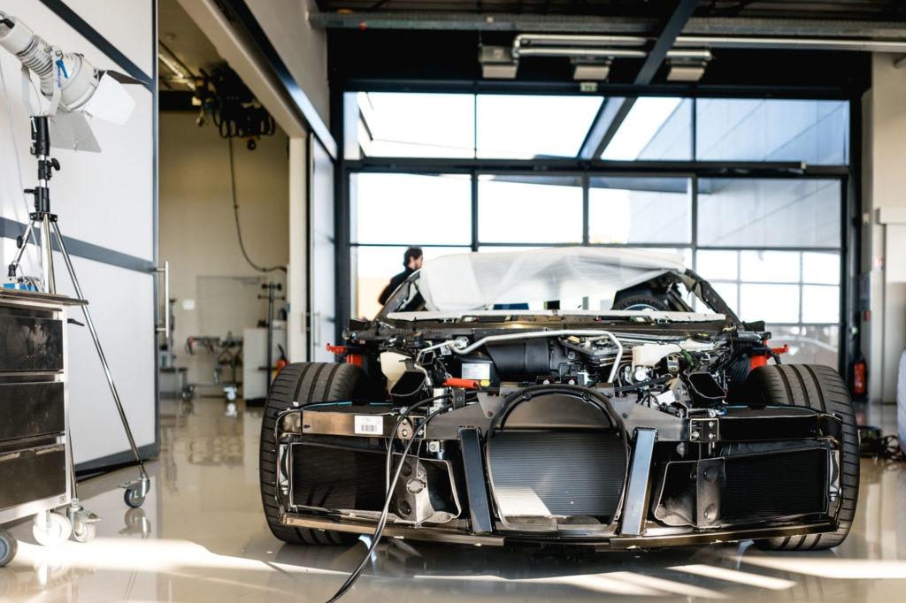 Ateliers Bugatti à Molsheim - Calandre